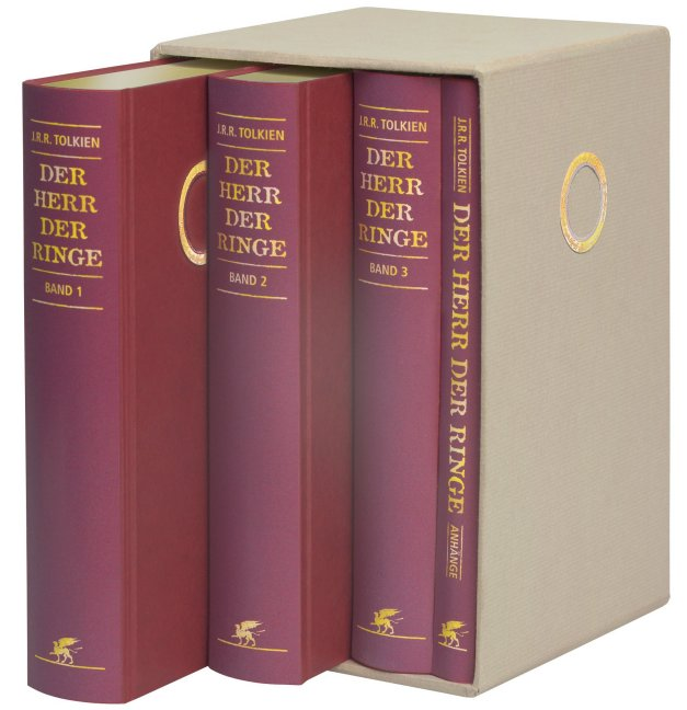 Lord Of The Rings  Book Set Hardcover