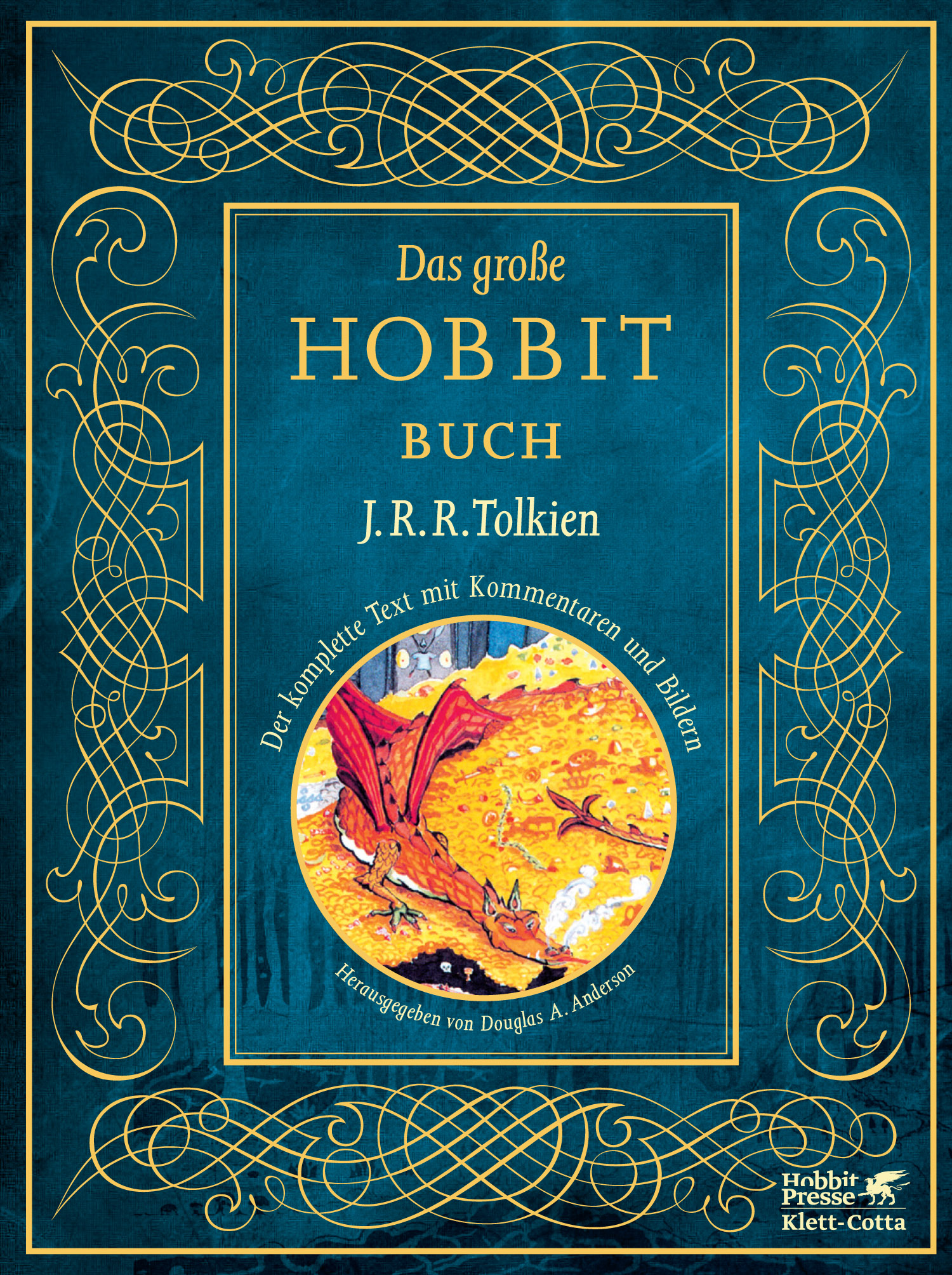 klett cotta das gro e hobbit buch j r r tolkien douglas a anderson. Black Bedroom Furniture Sets. Home Design Ideas